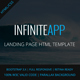 AppINFINITE - App Landing Template - ThemeForest Item for Sale
