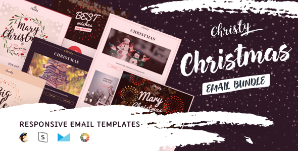Christy – Email Templates Set + StampReady Builder