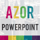Azor Powerpoint - GraphicRiver Item for Sale