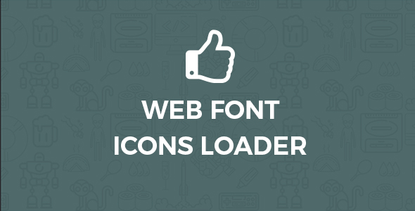 Font icons loader for wordpress - CodeCanyon Item for Sale