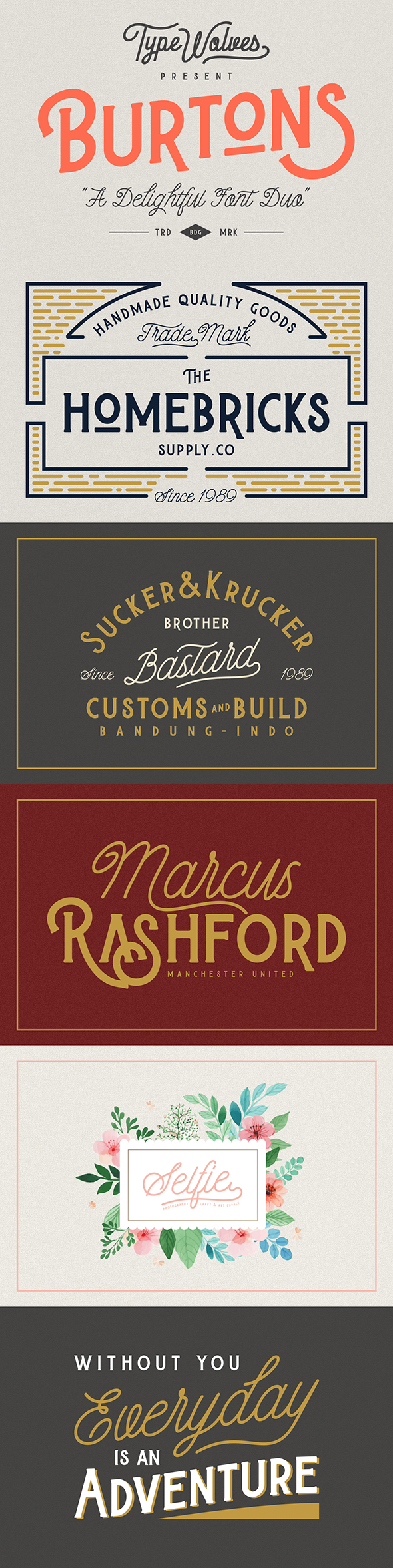 Burtons - Cool Fonts