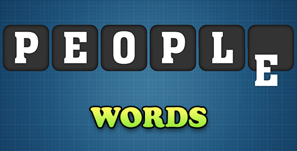 Words Game with AdMob - CodeCanyon Item for Sale