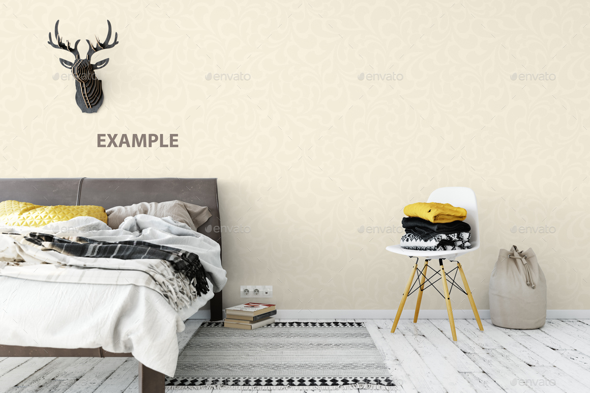 Wall Mockup - Bundle Vol. 1