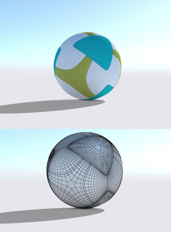 Football Model - 3DOcean Item for Sale