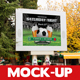 Photorealistic Outdoor Billboard Mock-up Template 10
