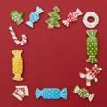 Frame of Christmas cookies - PhotoDune Item for Sale