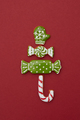 Christmas tree from different gingerbread cookies. - PhotoDune Item for Sale