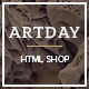 Artday - Creative Shop Template Nulled