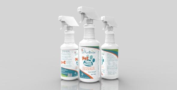 Spray Bottle & Plastic Bottle - 3DOcean Item for Sale