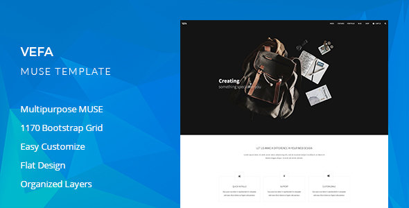 Vefa Multipurpose Muse Template