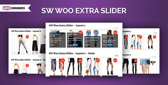 Woo Extra Slider - WooCommerce WordPress Slider Plugin - CodeCanyon Item for Sale