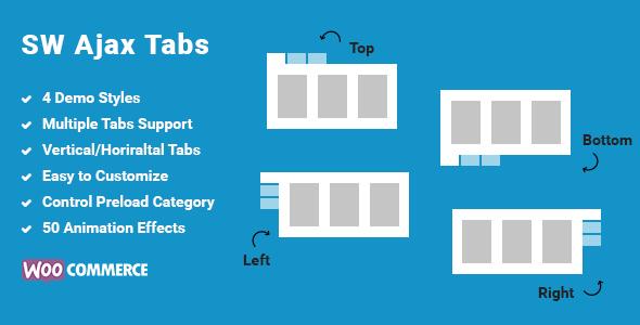 Ajax Tabs - WooCommerce Categories Tab WordPress Plugin - CodeCanyon Item for Sale