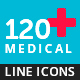 Outline Icon Set – Medical and Healthcare - GraphicRiver Item for Sale