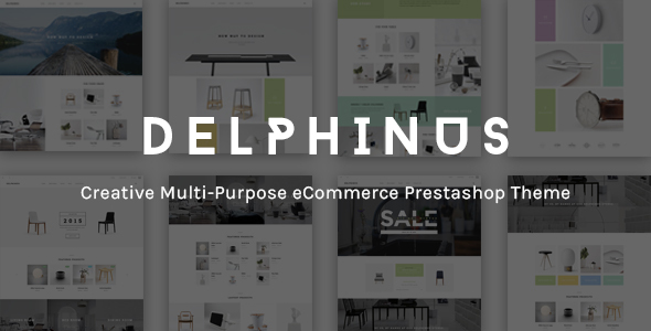 JMS Delphinus - Multipurpose Prestashop theme