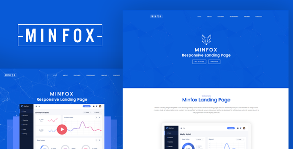 Minfox – High-Performance Landing Page WordPress Theme