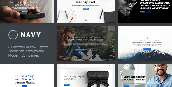 Navy – MultiPurpose Multi-Concept Business WordPress Theme
