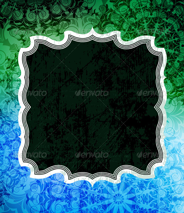 Vector frames - Backgrounds Decorative