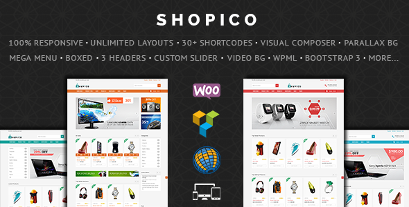 Shopico | All Purpose WooCommece WordPress Theme