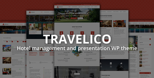 Travelico | Hotel Booking & Presentation WP Theme - Travel Retail