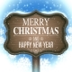 Christmas and New Year Signboard - GraphicRiver Item for Sale
