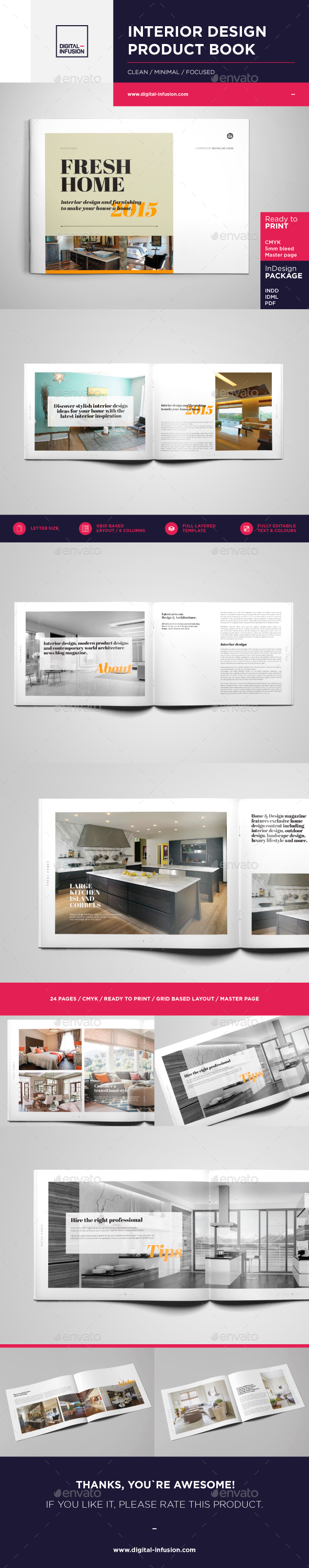 interior design brochure catalog catalogs brochures - Interior Design Pages