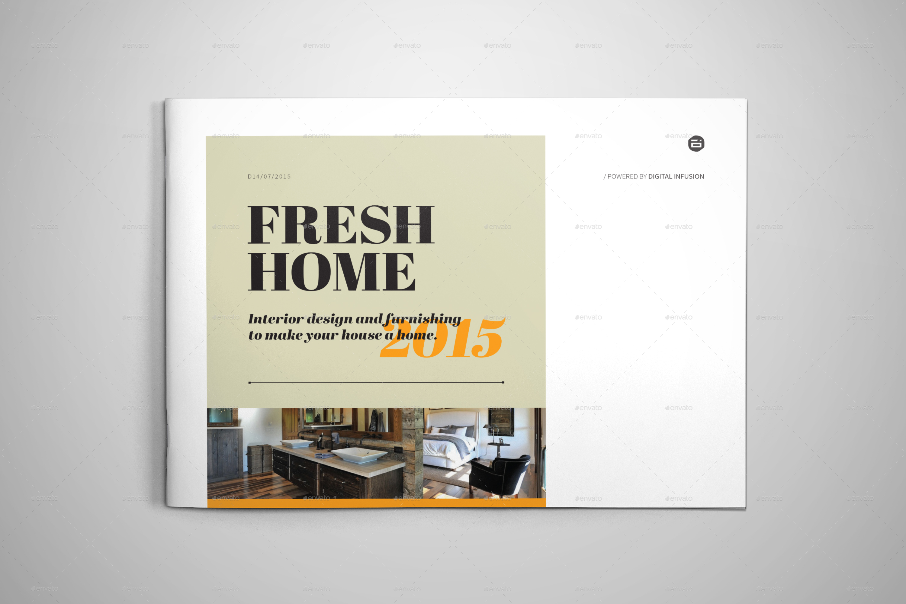 Interior Design Brochure Catalog By Digital Infusion