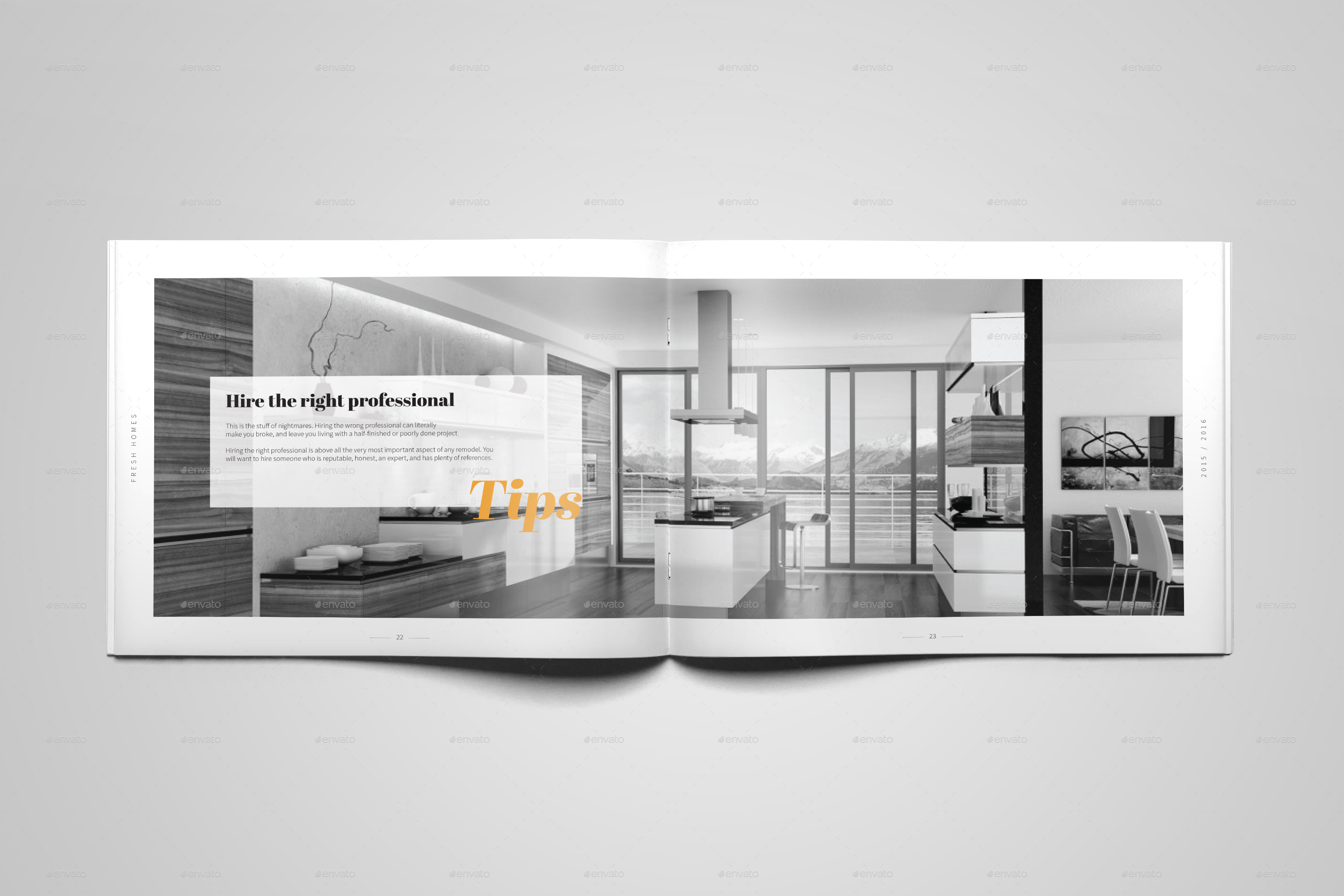 Interior design brochure catalog by digital infusion for Interior design facebook pages