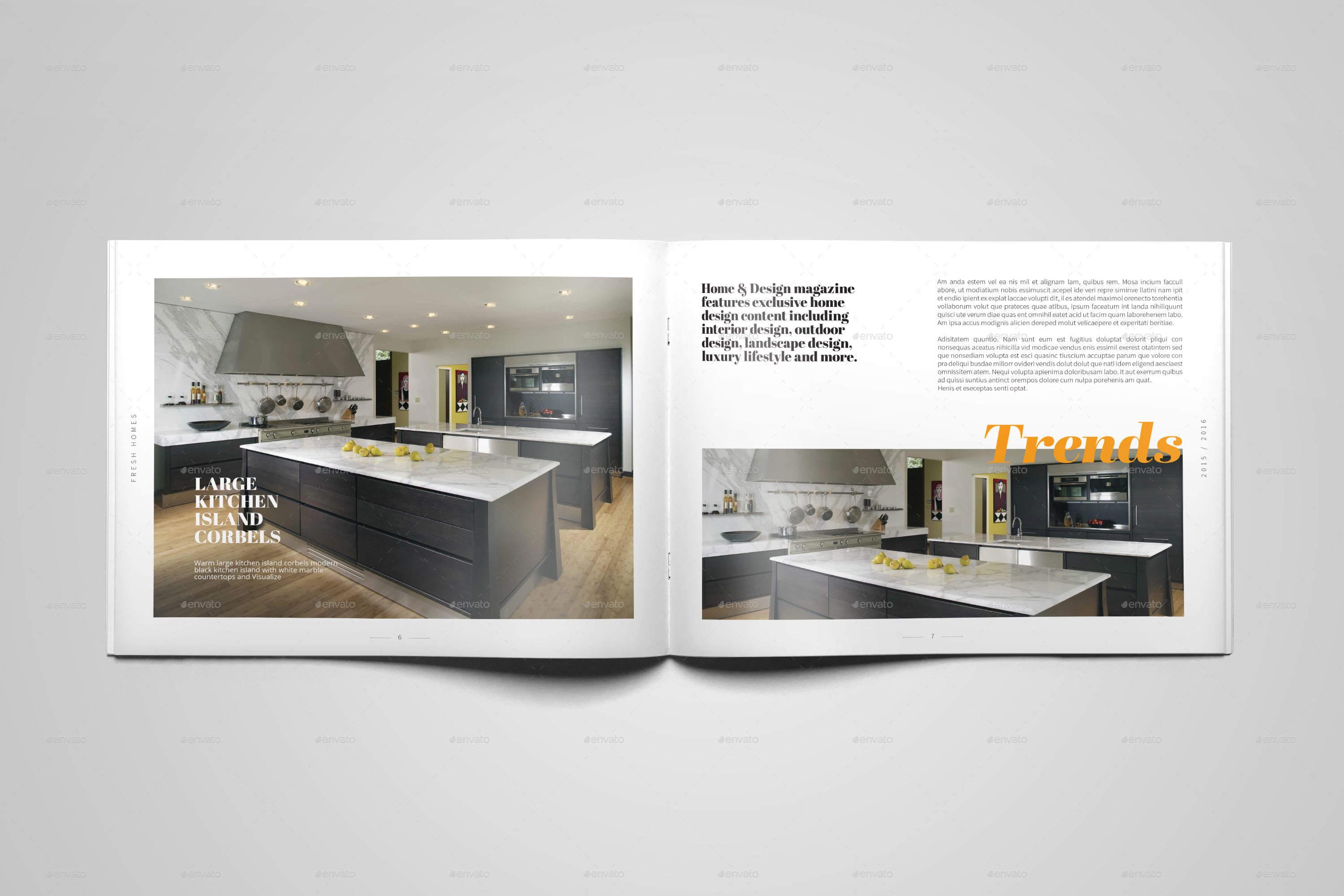 Interior design brochure catalog by digital infusion for Be interior design