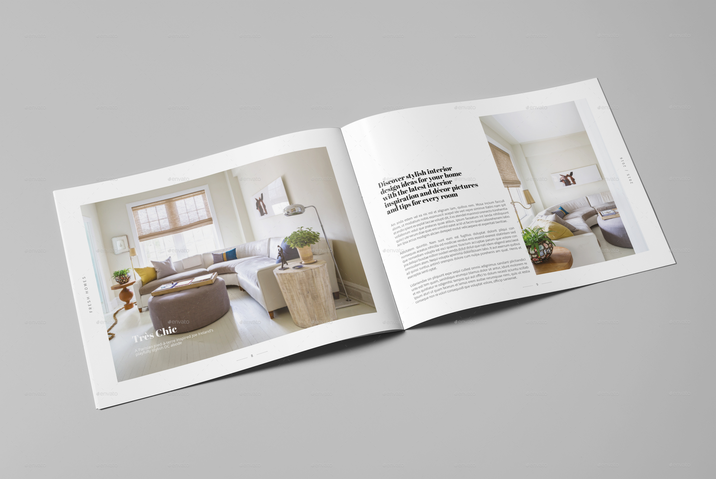 Interior Design Brochure / Catalog by Digital_infusion | GraphicRiver