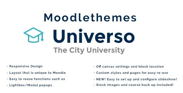Universo – Responsive Moodle Theme