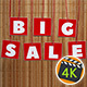 Big Sale on Bamboo Background - VideoHive Item for Sale