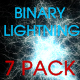 Binary Lightning (Pack of 7) - VideoHive Item for Sale