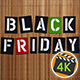 Black Friday Sale On Bamboo Background 2 - VideoHive Item for Sale
