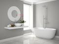 Interior of modern bathroom 3D rendering - PhotoDune Item for Sale