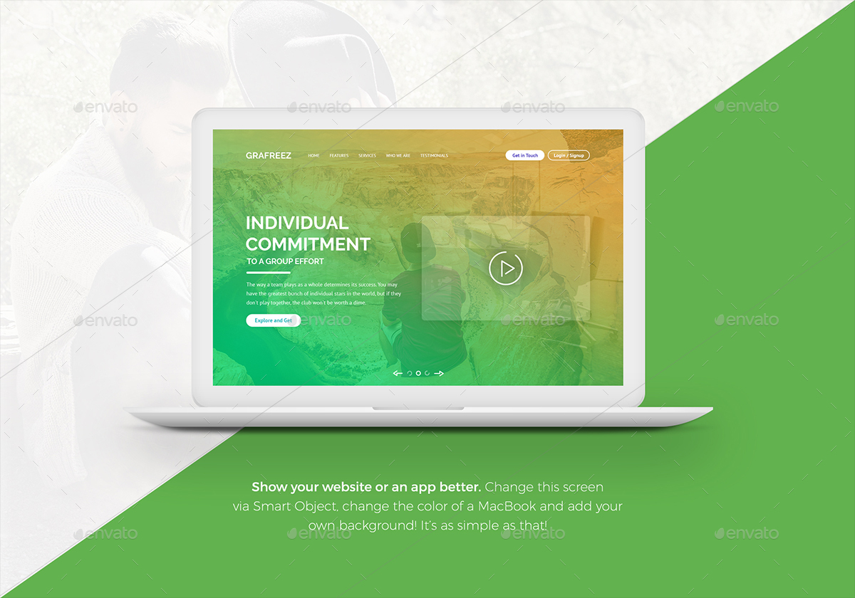 8 editable laptop mockups by eppearance graphicriver