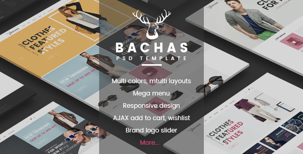 Bachas - DRAG & DROP Multipurpose Responsive Shopify Theme - Fashion Shopify