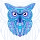 Detailed Hand Drawn Doodle Outline Owl - GraphicRiver Item for Sale