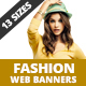 Fashion Web Banners - GraphicRiver Item for Sale