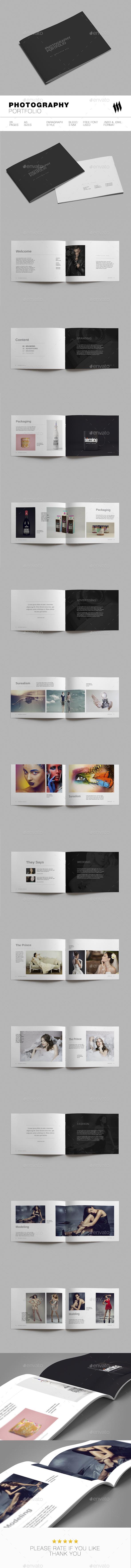 A5 Photography Portfolio - Portfolio Brochures