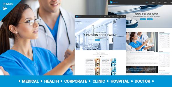 MedPlus – Medical & Health WordPress Theme - Health & Beauty Retail