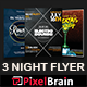 Night Club Party Flyer Template Bundle Vol - 02 - GraphicRiver Item for Sale