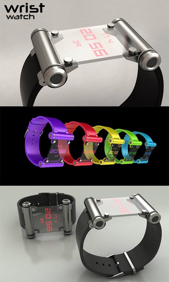 Watch - Wrist - 3DOcean Item for Sale