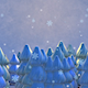 3D Winter Forest And Snowflakes - VideoHive Item for Sale