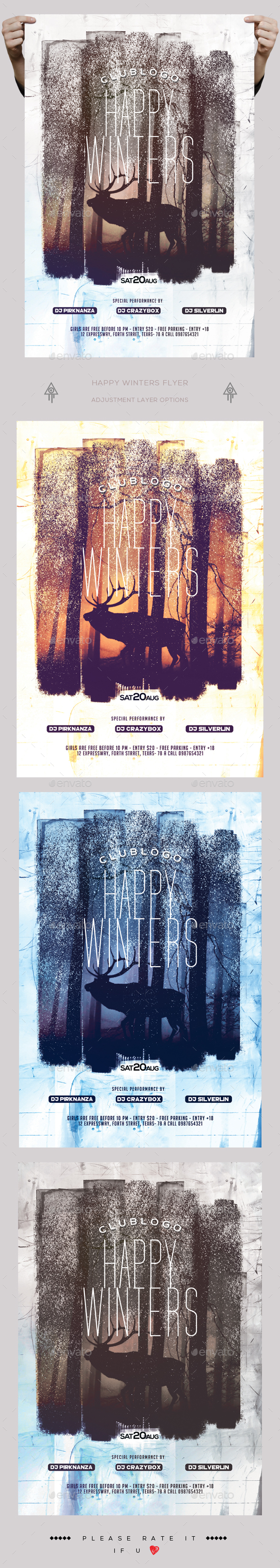 happy winters flyer by creatwitter graphicriver