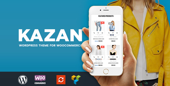Kazan – Fashion Shop WooCommerce Theme