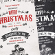 Vintage Christmas Flyer - Chalk Flyer - GraphicRiver Item for Sale