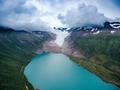 Svartisen Glacier in Norway. - PhotoDune Item for Sale