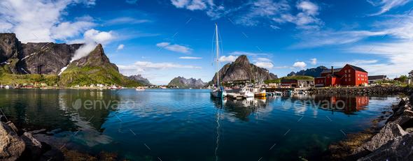 Lofoten archipelago - Stock Photo - Images