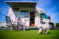 Family vacation travel, holiday trip in motorhome - PhotoDune Item for Sale