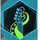 Dark Glitch Logo